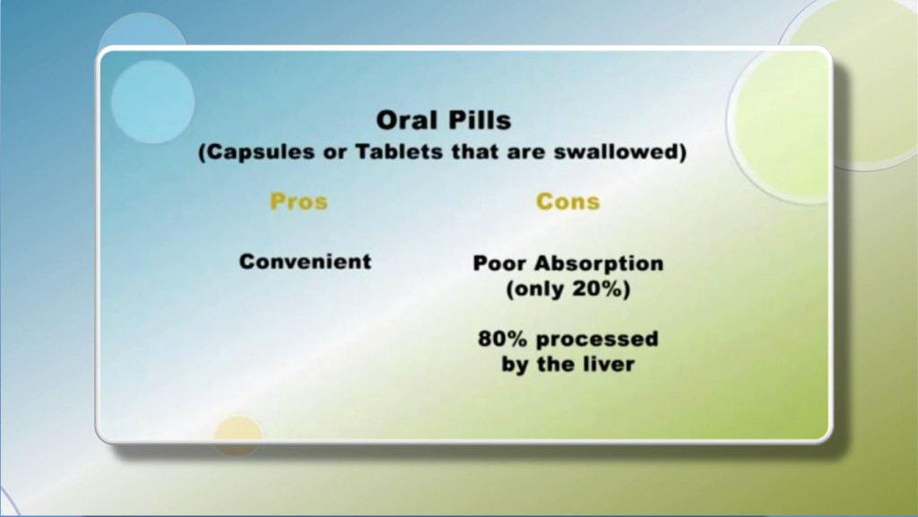 BHRT Delivery_Oral