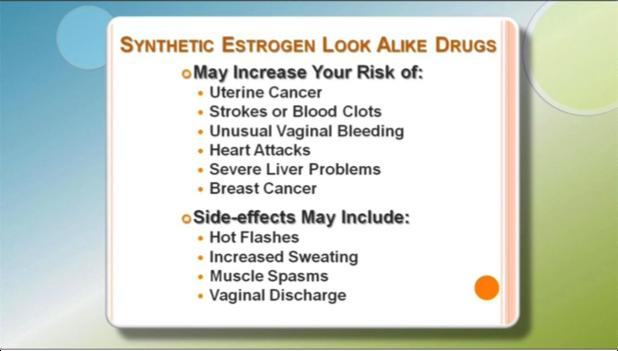 Synthetic Estrogens Side-effects