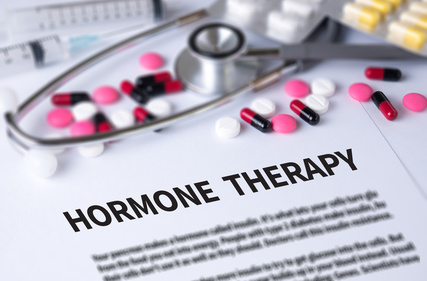 HORMONE THERAPY and Background of Medicaments Composition, Stethoscope, mix therapy drugs doctor and selectfocus